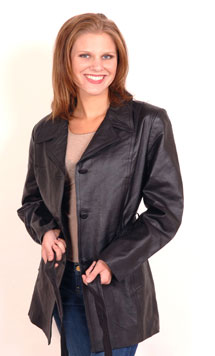 A38 Ladies Belted Jacket