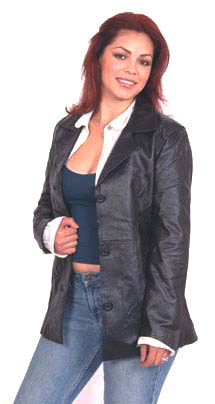 A8 LADIES LEATHER BELTED JACKET SALE $99.95