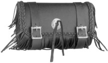 TB-1501 LEATHER MOTORCYCLE TOOLS BAG WITH STUDS