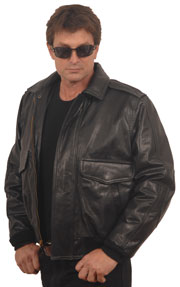 CP1 Leather Commercial Pilot Jacket