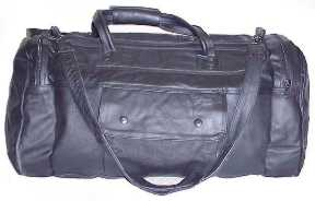 Leather Tote Bag-Great for Travel