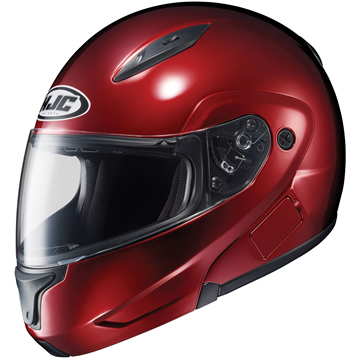 CL-MAX2 HJC Wine Motorcycle Modular Helmet Modular Click for Large View