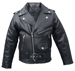 kids leather biker jacket