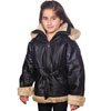 K103 Girls Coat Hood Off
