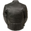 Kids 2000 Kids Padded and Vented Biker Jacket Back View