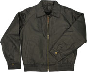 K2041 Kids Leather Waist Bomber Jacket, Great for formal events!
