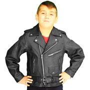 We Also Recommend the Kids K1010 Biker Leather Jacket