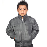 Kids Leather Jackets Department we have kids leather biker