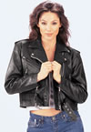 C10 Plain Ladies Motorcycle Jacket $79.95
