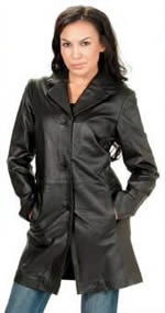Department for Ladies Full Length Leather Jackets, Leather Trench