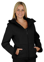 Click here for the F1269 Ladies Black Poly Fleece Hood