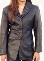 A21 Ladies Leather Blazer