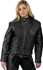 Ladies 101X Scooter Biker Leather Jacket