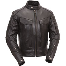 LC193 Ladies Motorcycle Leather Racing Jacket with Armor