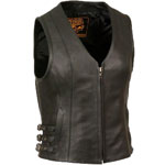 LV1911 Ladies Leather Vest