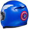 Captain America Helmet Back View