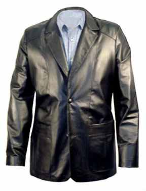 703 MENS BLAZER LEATHER JACKET