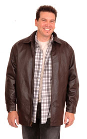 A106 Stadium Leather Jacket