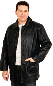 A100 Leather Stadium Jacket