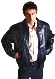 Style B28000  Mens  Lamb Waist Jacket  -- San Diego Leather Jacket