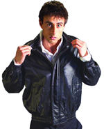 Mens Leather Waist Jackets