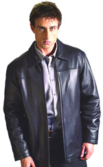 B28200 MENS SHIRTS LEATHER JACKETS