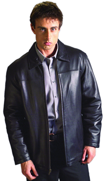 B28200 MENS LEATHER STADIUM JACKET