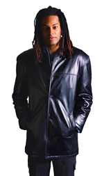 B28300  MENS   LEATHER  JACKET