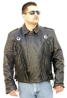 2004 Biker Leather Jacket