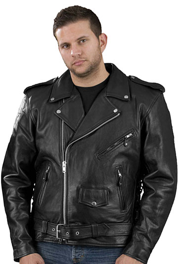 Welcome to the Mens Big and Tall Sizes Leather Motorcycle Jackets ...