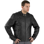 C5410 Mens Scooter Leather Jacket