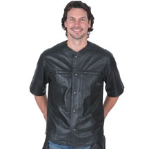 C868 Mens Baseball Leather Shirt
