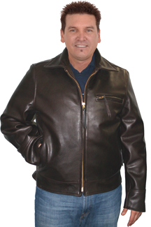 Highway Man Motorcycle Leather Jacket
