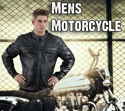 Click Here for Mens Motorcycle Department