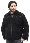 S49924 Mens Fringe Jacket