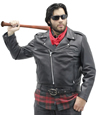 Deadman Mens Motorcycle Leather Jacket Front View 1