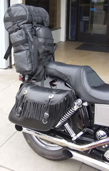 LEATHER SISSY BAR BAG 1 - SAN DIEGO LEATHER JACKET FACTORY