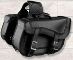 Saddle Bag 664ZB Zip-Off made with Weather Resistan PVC Material