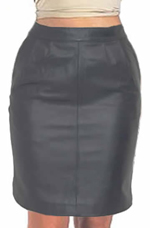 Ladies Leather Skirt 1