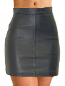 Ladies Leather Skirt 2