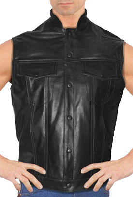 Anarchist 2 Short Collar Levi type Vest