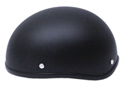 Bullet Novelty Flat Black Helmet