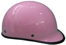 Jockey Polo Biker Novelty Helmet Pink with Gloss Finish
