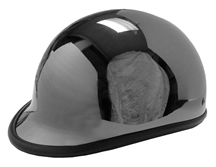 Jockey Polo Novelty Helmet Black Chrome